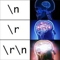 """test ' """" \r \n"""