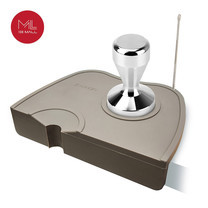 Asguard Accessories Set 1 (แผ่นยางรองแทมเปอร์, ก้านอัดผงกาแฟแบบเข้ามุมโต๊ะ (มีที่เสียบปากกาวาดลายอาร์ต) และ Tamper ขนาด 51 mm.)
