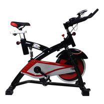 360 Ongsa จักรยานปั่นออกกำลังกาย Spin Bike AM-S2000T 18 kg. - Black/Red