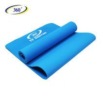360 Ongsa เสื่อโยคะ Yoga Mat TPE MB-32002 หนา 6 มม. - Light Blue