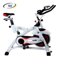 360 Ongsa จักรยานปั่นออกกำลังกาย Spin Bike AM-S2000T 18 kg. - White/Black