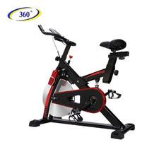 360 Ongsa จักรยานนั่งปั่นออกกำลังกาย Spin Bike 9011S สีดำ/แดง