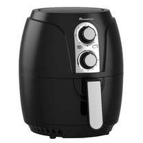 (New) หม้อทอดไร้น้ำมัน เพื่อสุขภาพสำหรับคนรักสุขภาพ  AN-AFY2518 Black สีดำ ความจุ 2.5 ลิตร