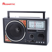 Aconatic เครื่องเล่นวิทยุ Retro FM/AM AN-888 - Black