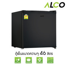 ALCO Black ตู้เย็นมินิบาร์ รุ่น AN-FR468 สีดำ ขนาด 1.7 คิว ความจุ 46.8 ลิตร