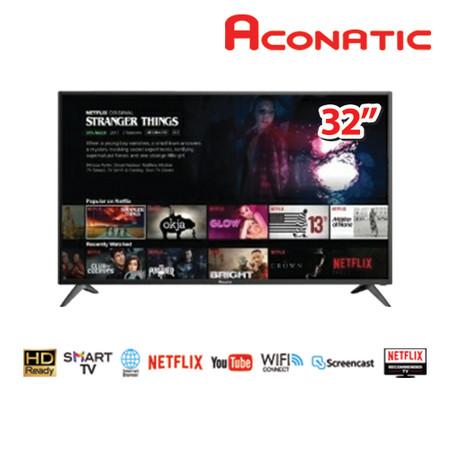 Aconatic สมาร์ททีวี HD ขนาด 32 นิ้ว Netflix License รุ่น 32HS534AN (รับประกันศูนย์3ปี)