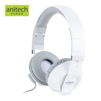 Anitech Stereo Headphone with Mic Single Jack AK60
