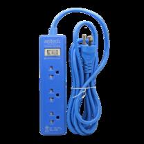 Anitech ปลั๊กไฟ มอก. รุ่น H1033-ฺBL