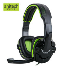 Anitech Gaming Headset 2.0 CH AK71 PEGASUS Series - Black