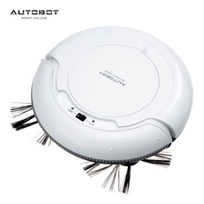 AUTOBOT หุ่นยนต์ดูดฝุ่น โรบอท และ ถูพื้น ยอดนิยม รุ่น MINI สีขาว