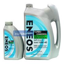 ENEOS น้ำมันเครื่อง TURBO COMMONRAIL SAE 15W-40 ขนาด 6 ลิตร (ฟรี 1 ลิตร)