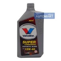 VALVOLINE น้ำมันเครื่อง SUPER COMMONRAIL SYNTHETIC BLEND SAE 15W-40 ขนาด 1 ลิตร