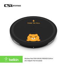 Belkin แท่นชาร์จโทรศัพท์แบบไร้สาย Wireless Charge KAKAO FRIENDS Edition (5/7.5/9/10W) พร้อมสายชาร์จ 1.2m F7U088btBLK