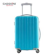 CAGGIONI กระเป๋าเดินทางจับคู่ ขนาด 20 นิ้ว+26 นิ้ว รุ่น BRUSH 5702 - Blue