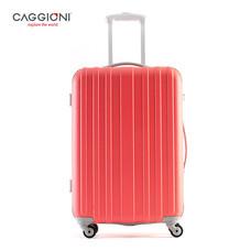 CAGGIONI กระเป๋าเดินทางจับคู่ ขนาด 20 นิ้ว+26 นิ้ว รุ่น BRUSH 5702 - Pink