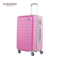 CAGGIONI กระเป๋าเดินทาง ขนาดพิเศษ 22 นิ้ว รุ่น Fully 59036 - Hot Pink