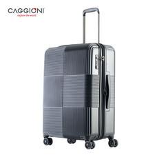 CAGGIONI กระเป๋าเดินทาง ขนาด 24 นิ้ว รุ่น Voyageur 15082 - Black