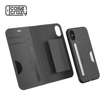 LAB.C iPhone X Smart Wallet 2in1 - Grey