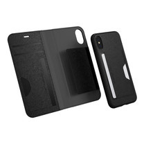 LAB.C iPhone X Smart Wallet 2in1 - Black