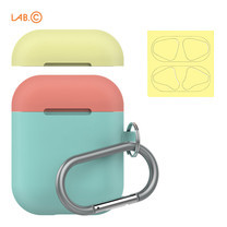 LAB.C เคส AirPods Capsule for AirPods (2 in 1) - Mint-Coral-Lemon