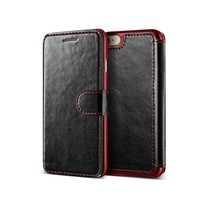 VRS DESIGN Case iPhone 7 Case Dandy Layered - Black+Wine