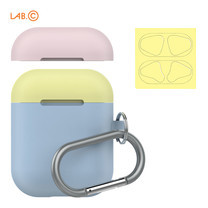 LAB.C เคส AirPods Capsule for AirPods (2 in 1) - Pastel Blue-Baby Pink-Lemon