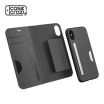 LAB.C iPhone X Smart Wallet 2in1 - Grey