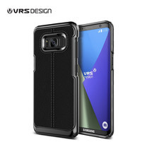 VRS DESIGN เคส Galaxy S8 Plus Case Simpli Mod : Black
