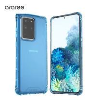 Araree เคส S20 Ultra [MACH] เคสใส, เคสกันกระแทก - Deep Blue