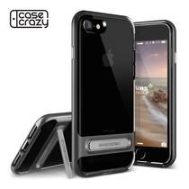เคส iPhone 7 VRS DESIGN Case Crystal Bumper - Steel Silver