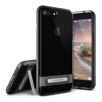 เคส iPhone 7 Plus VRS DESIGN Case Crystal Bumper - Steel Silver