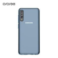 Araree เคส A70 [A COVER] เคสบาง  เคสซิลิโคน - Blue