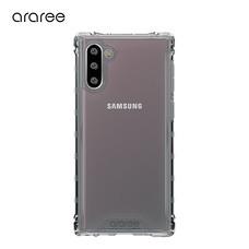 Araree เคส Note 10 [MACH] เคสใส เคสกันกระแทก - Black