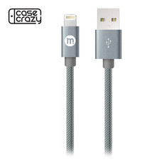 MOBISTER สายชาร์จ Lightning 8 pin Sync & Charge Cable - Grey