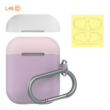 LAB.C เคส AirPods Capsule for AirPods (2 in 1) - Lavender-Baby Pink-White