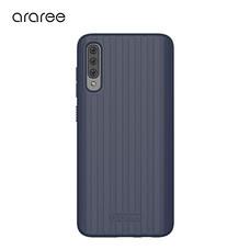 Araree เคส A70 [Airdome]  เคสกันกระแทก เคสซิลิโคน - Blue