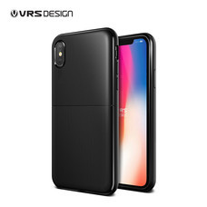 VRS DESIGN เคส iPhone X Single Fit : Black