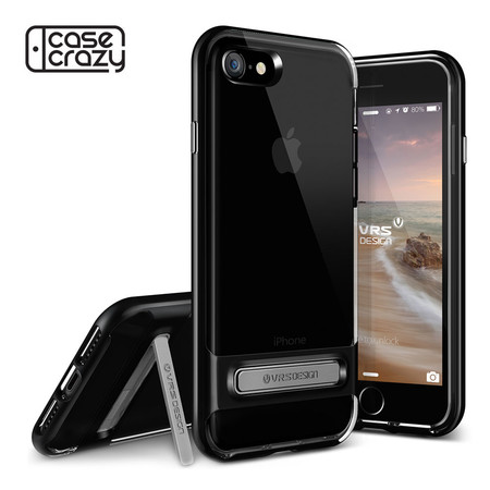 VRS DESIGN เคส iPhone 7 Case Crystal Bumper - Jet Black