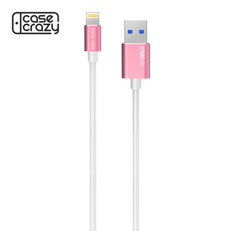 XTURF สายชาร์จ OTG flash drive DM Aiplay cable (Mobile Memory & lighting cable 64 GB) - Rose Gold