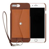 เคสโทรศัพท์ Cheero รุ่น Rakuni for iPhone 7 Plus Case Pocket Type แบบกระเป๋า - Brown