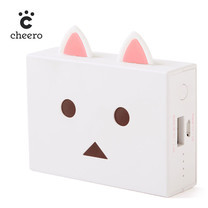 แบตเตอรีสำรอง Cheero Power Plus nyanboard ver. 6000mAh - Shiro