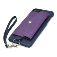 เคสโทรศัพท์ Cheero รุ่น  Rakuni  for iPhone 7 Plus Case Pocket Type แบบกระเป๋า - Blue