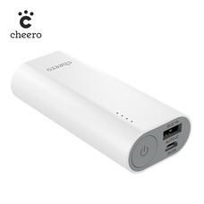 แบตเตอรี่สำรอง Cheero Power Plus 3 mini 6700mAh - White