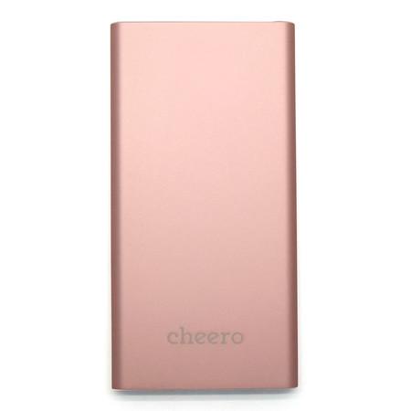 แบตเตอรีสำรอง Cheero Slim 5300mAh - Rose Gold