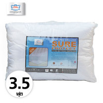 Darling Deluxe ผ้ารองกันเปื้อนที่นอนแบบรัดมุม Super Soft ขนาด 3.5 ฟุต - White
