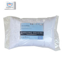 Darling Deluxe หมอนหนุนใยสังเคราะห์ 1 ใบ - สีขาว