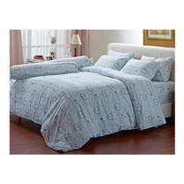Darling Deluxe ชุดผ้าปูที่นอนแบบรัดมุมพร้อมผ้าห่มนวม 4 ชิ้น รุ่น English Romantic  สำหรับที่นอน 3.5 ฟุต - Vintage