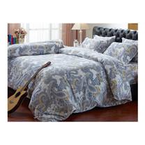 Darling Deluxe ชุดผ้าปูที่นอนแบบรัดมุมพร้อมผ้าห่มนวม 6 ชิ้น รุ่น English Romantic  สำหรับที่นอน 5 ฟุต - Victoria