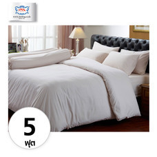 Darling Deluxe ชุดผ้าปูที่นอนแบบรัดมุมพร้อมผ้าห่มนวม 6 ชิ้น สำหรับที่นอน 5 ฟุต ลายฉลุจีน Chinese Embro