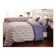 Darling Deluxe ชุดผ้าปูที่นอนแบบรัดมุม 3 ชิ้น สำหรับที่นอน 3.5 ฟุต รุ่น English Romantic - Diana